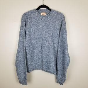 Woolrich blue knit sweater